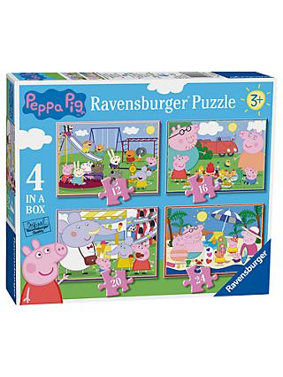 Peppa Pig Ravensburger 4 In a Box Jigsaw Puzzle