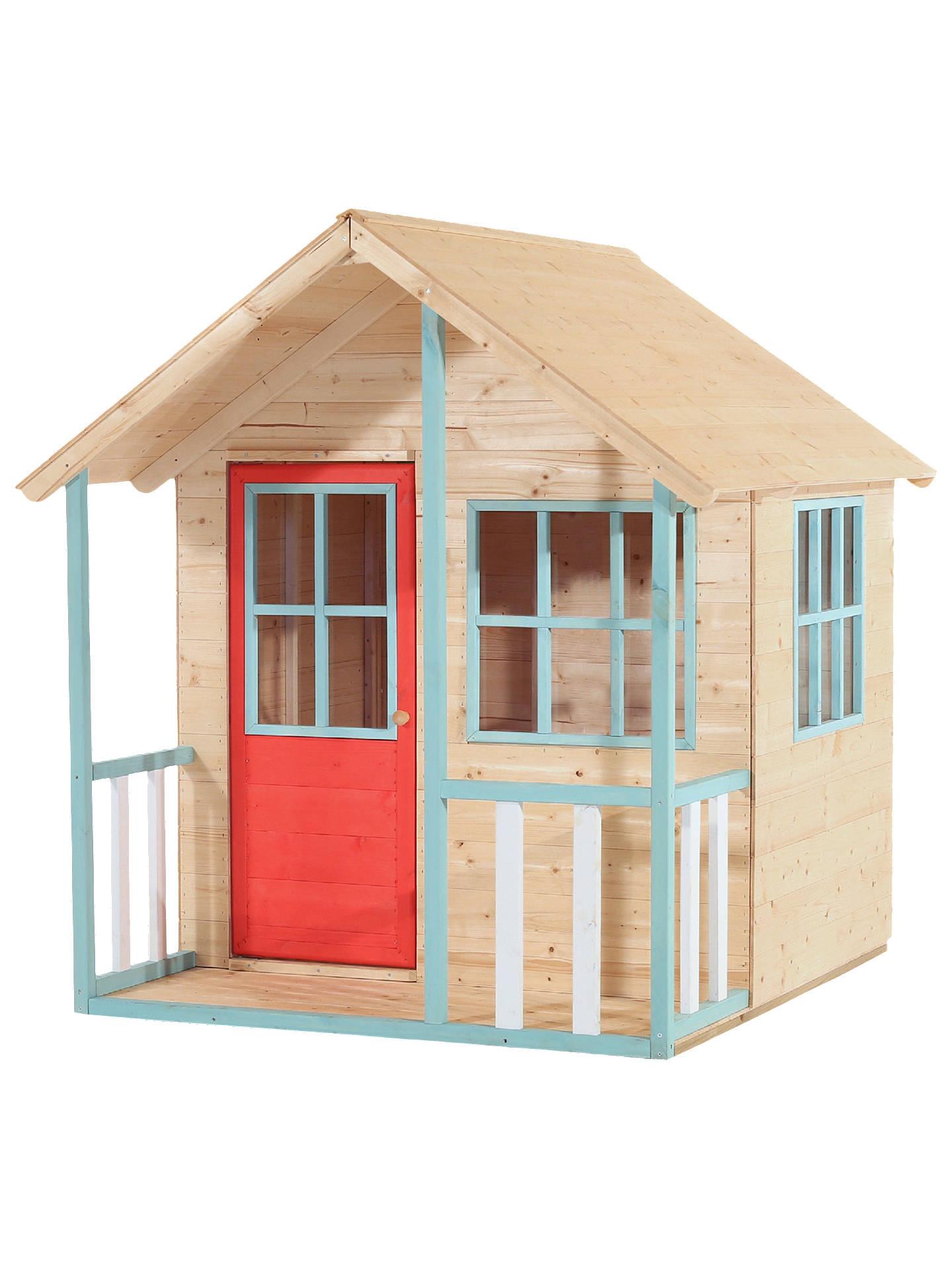 Stupendous Tp Toys Alpine Cottage Playhouse Brown Beutiful Home Inspiration Xortanetmahrainfo