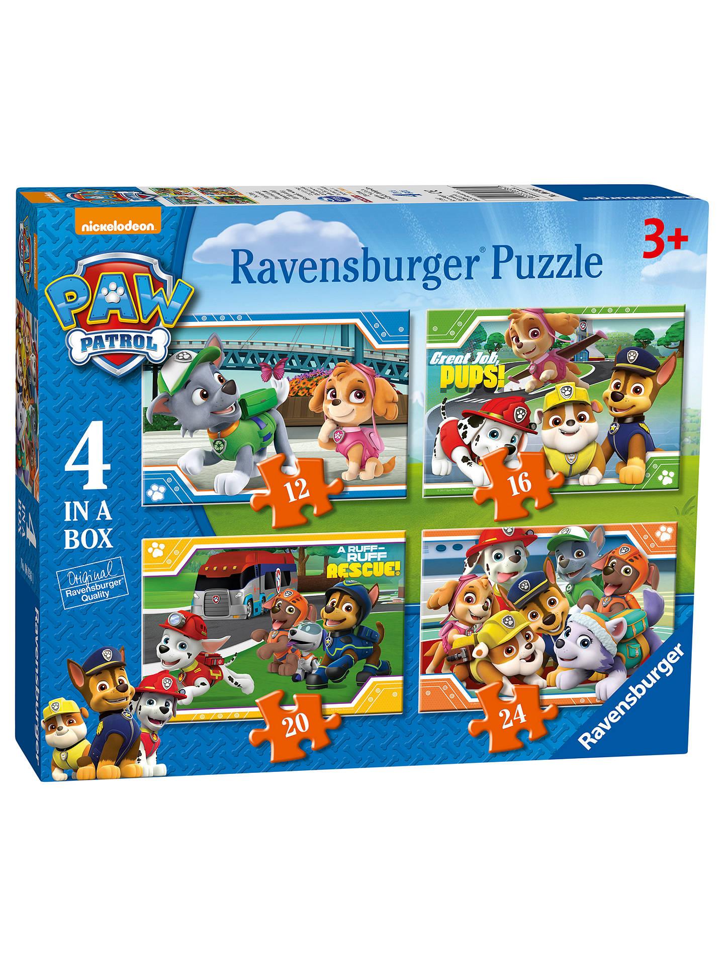 BuyPaw Patrol 4 In a Box Jigsaw Puzzle f5c40f35bd