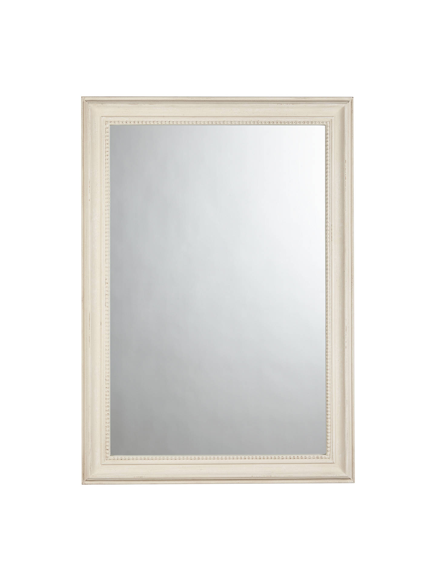 BuyJohn Lewis & Partners Distressed Mirror, 102 x 72cm, Cream Online at johnlewis.com