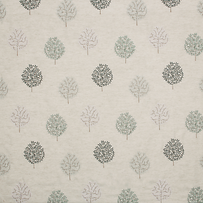John Lewis & Partners Wilverley Trees Furnishing Fabric, Duck Egg
