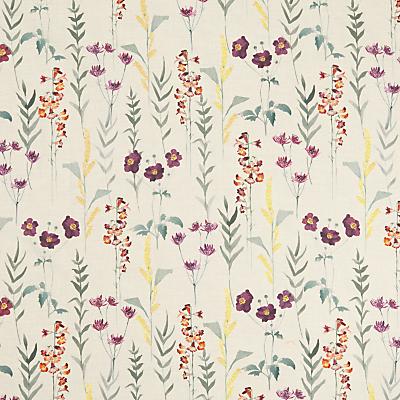 John Lewis & Partners Longstock Autumn Furnishing Fabric, Orange