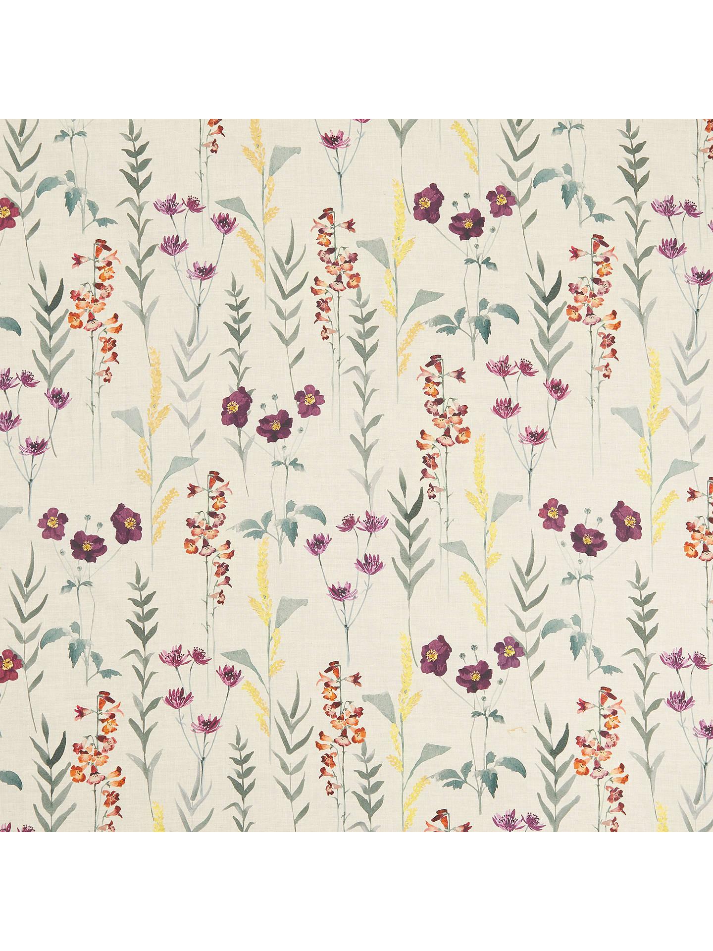 John Lewis Partners Longstock Autumn Furnishing Fabric Orange Online At Johnlewis