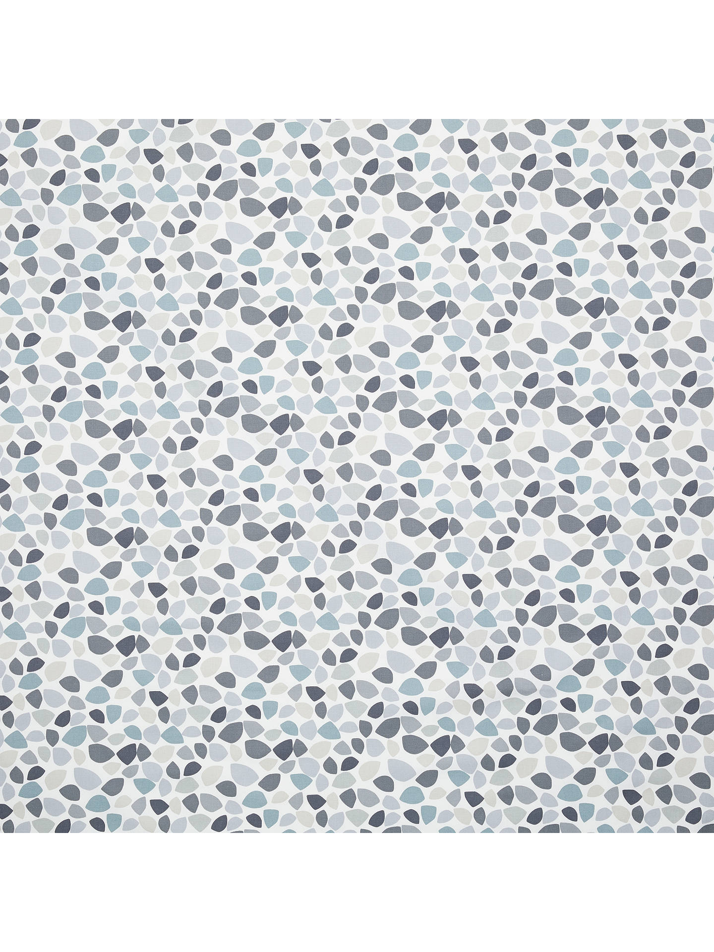 Buy John Lewis & Partners Tia Furnishing Fabric, Slate Blue Online at johnlewis.com