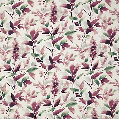 John Lewis & Partners Ashley Leaf Furnishing Fabric, Mulberry