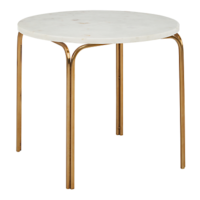 John Lewis & Partners Azra Marble Side Table