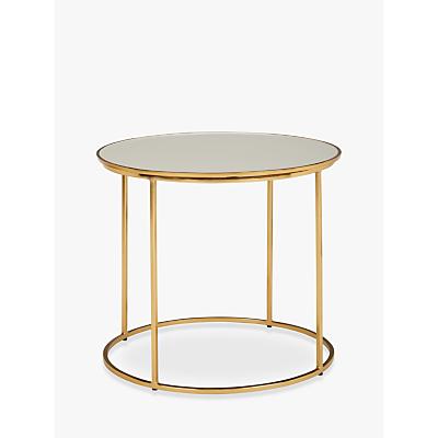 John Lewis & Partners Melena Large Side Table, Cream