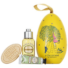 Buy L'Occitane Almond Egg Bath & Body Gift Set Online at johnlewis.com