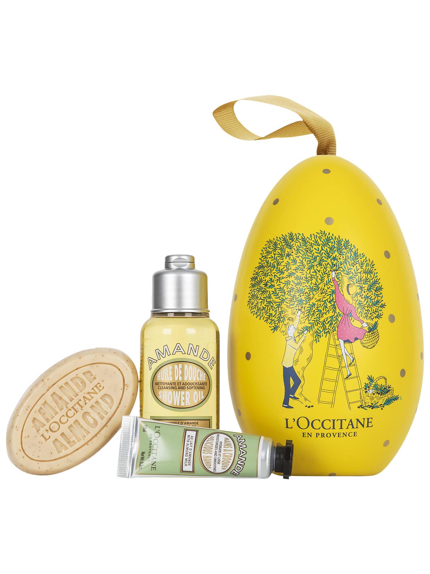 BuyLOccitane Almond Egg Bath Body Gift Set Online At Johnlewis