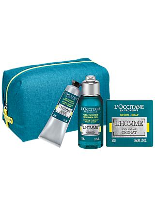 L'Occitane L'Homme Cologne Cedrat Face & Body Gift Set