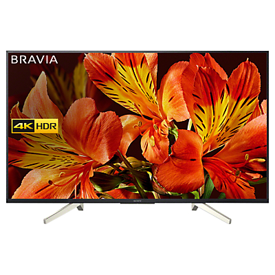Sony Bravia KD65XF8505 LED HDR 4K Ultra HD Smart Android TV, 65 with Freeview HD & Youview, Black