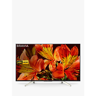 Sony Bravia KD55XF8505 LED HDR 4K Ultra HD Smart Android TV, 55 with Freeview HD & Youview, Black