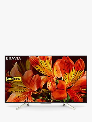 "Sony Bravia KD55XF8505 LED HDR 4K Ultra HD Smart Android TV, 55"" with Freeview HD & Youview, Black"