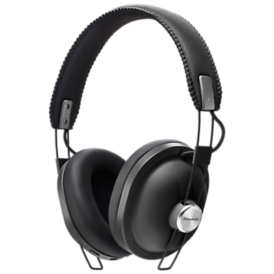 Panasonic HTX80BE Bluetooth Wireless Over-Ear Headphones with Mic/Remote