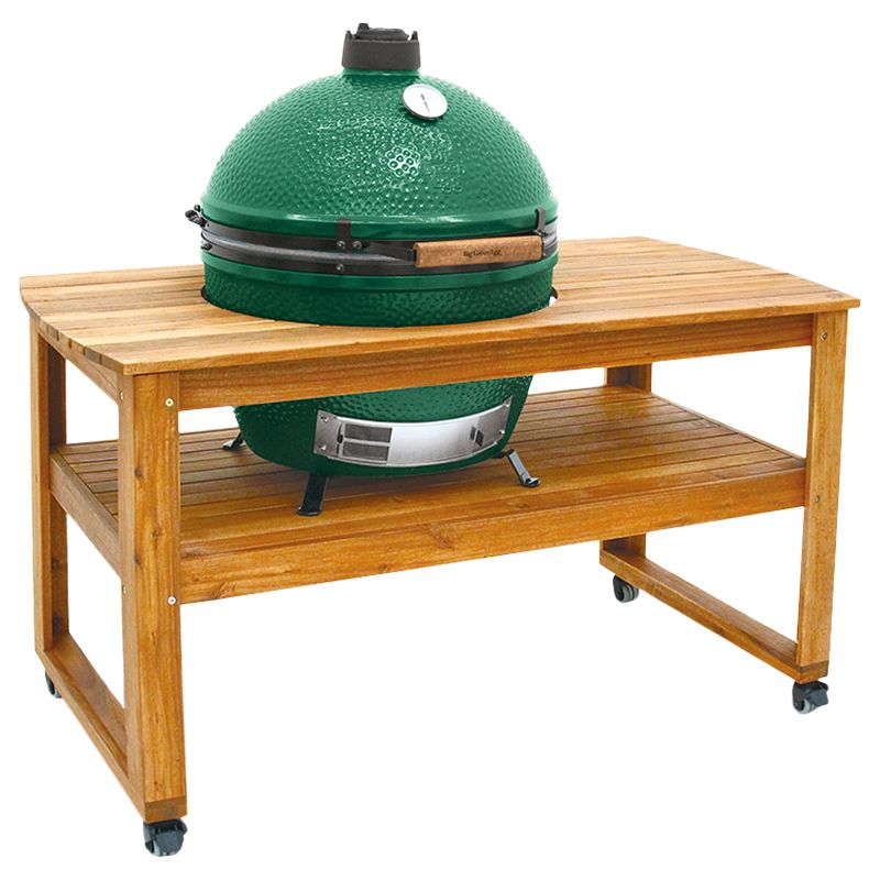 Big Green Egg Big Green Egg Extra Large BBQ and Wood Table Bundle