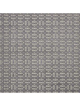 John Lewis & Partners Leo Squares Furnishing Fabric, Grey