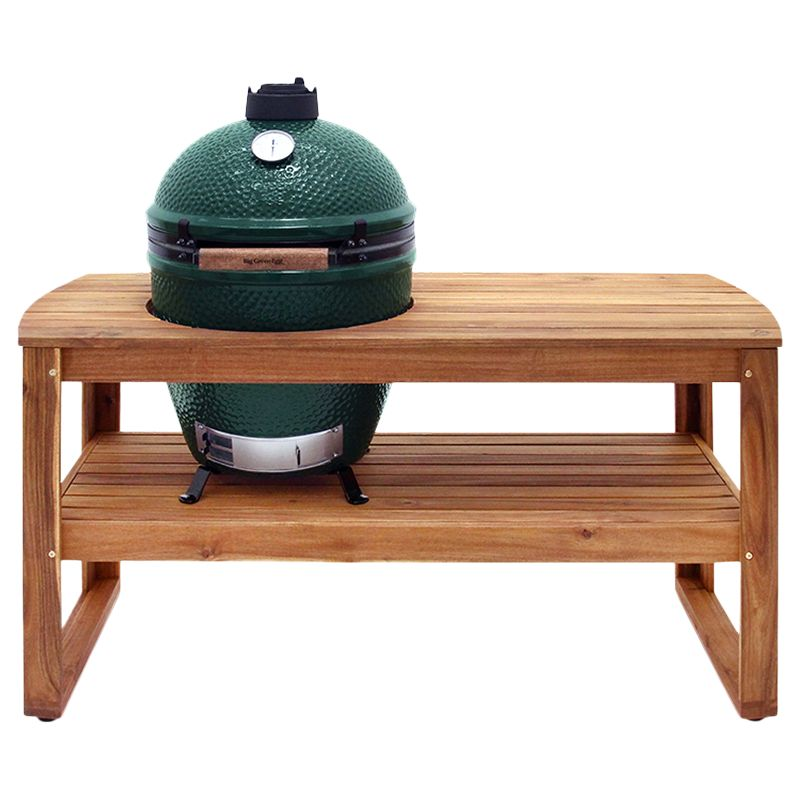 Big Green Egg Big Green Egg Large BBQ and Wood Table Bundle