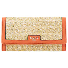 Buy Dune Kircle Raffia Foldover Purse Online at johnlewis.com