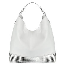 Buy Mint Velvet Hayley Stud Panel Leather Shoulder Bag Online at johnlewis.com