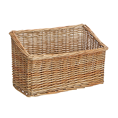 Croft Collection Slanted Wicker Storage Box