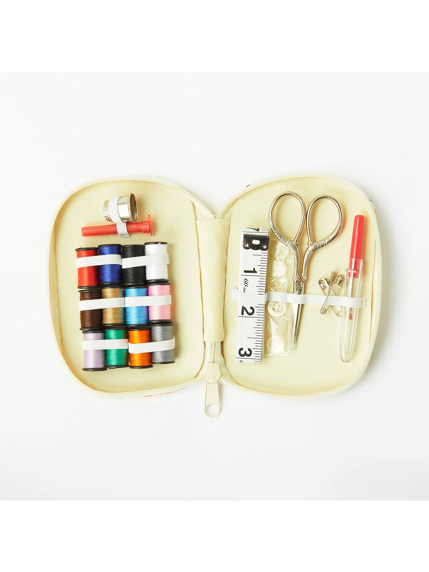 Buy John Lewis & Partners Distant Dreams Sewing Kit, Cream Online at johnlewis.com