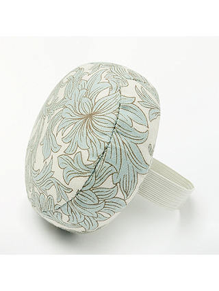 Buy John Lewis & Partners Chrysanthemum Print Wrist Cushion, Green Online at johnlewis.com