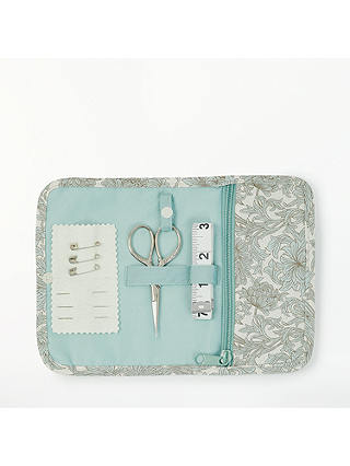 Buy John Lewis & Partners Chrysanthemum Print Sewing Roll Kit, Grey Online at johnlewis.com