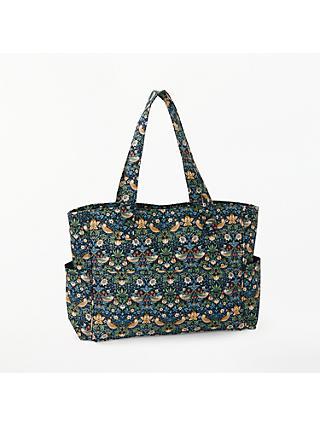 John Lewis & Partners Strawberry Thief Craft Bag, Navy