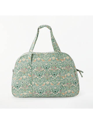 Buy John Lewis & Partners Strawberry Thief Print Sewing Machine Bag, Aqua Online at johnlewis.com