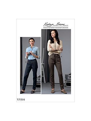 Trousers   Sewing Patterns   John Lewis