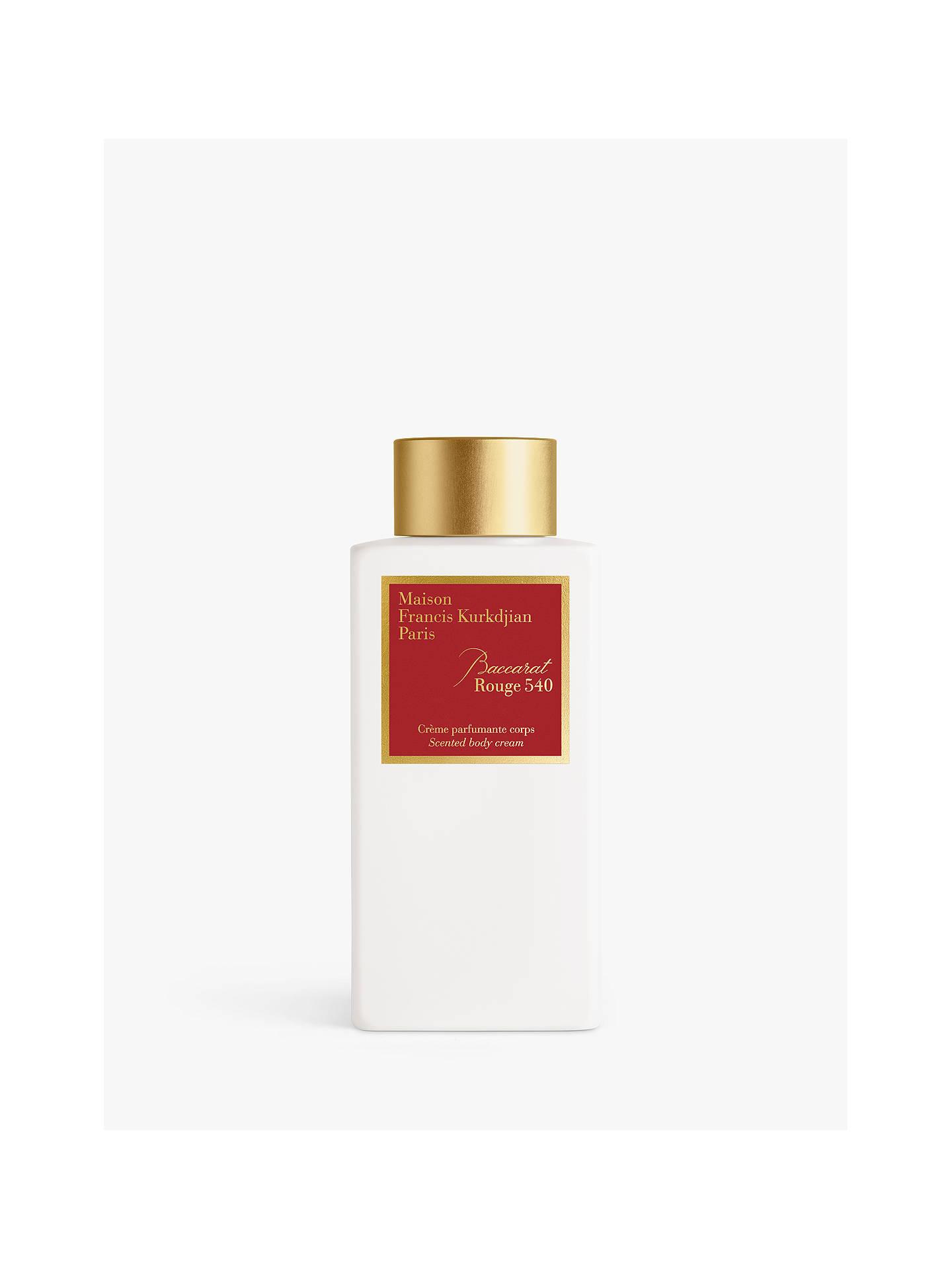 Maison Francis Kurkdjian Baccarat Rouge 540 Scented Body Cream, 250ml by Maison Francis Kurkdjian
