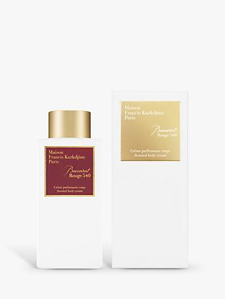 Maison Francis Kurkdjian Baccarat Rouge 540 Scented Body Cream, 250ml