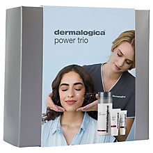 Buy Dermalogica Anti-aging Power Trio Skincare Set Online at johnlewis.com