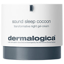 Buy Dermalogica Sound Sleep Cocoon™ Transformative Night Gel-Cream, 50ml Online at johnlewis.com
