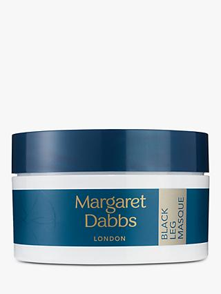 Margaret Dabbs London Black Charcoal Leg Masque, 200g