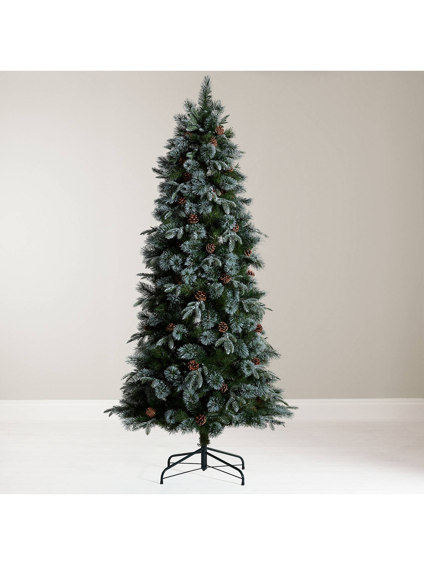 BuyJohn Lewis & Partners Foxtail Pine Pre-lit Christmas Tree, 6.5ft Online at johnlewis.com