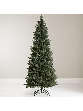john lewis partners blue pop up slimline pre lit christmas tree - Christmas Tree Blue