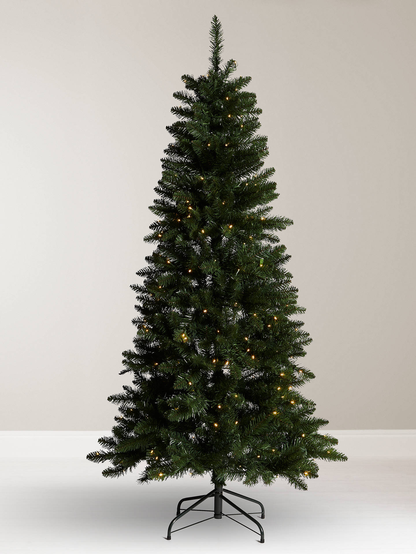 Buy John Lewis & Partners Spire Spruce Pre-lit Christmas Tree, 6ft Online at ...