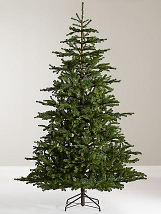 John Lewis & Partners Emerald Peruvian Pine Unlit Christmas Tree, ... - Christmas Trees Real & Artificial Christmas Trees At John Lewis