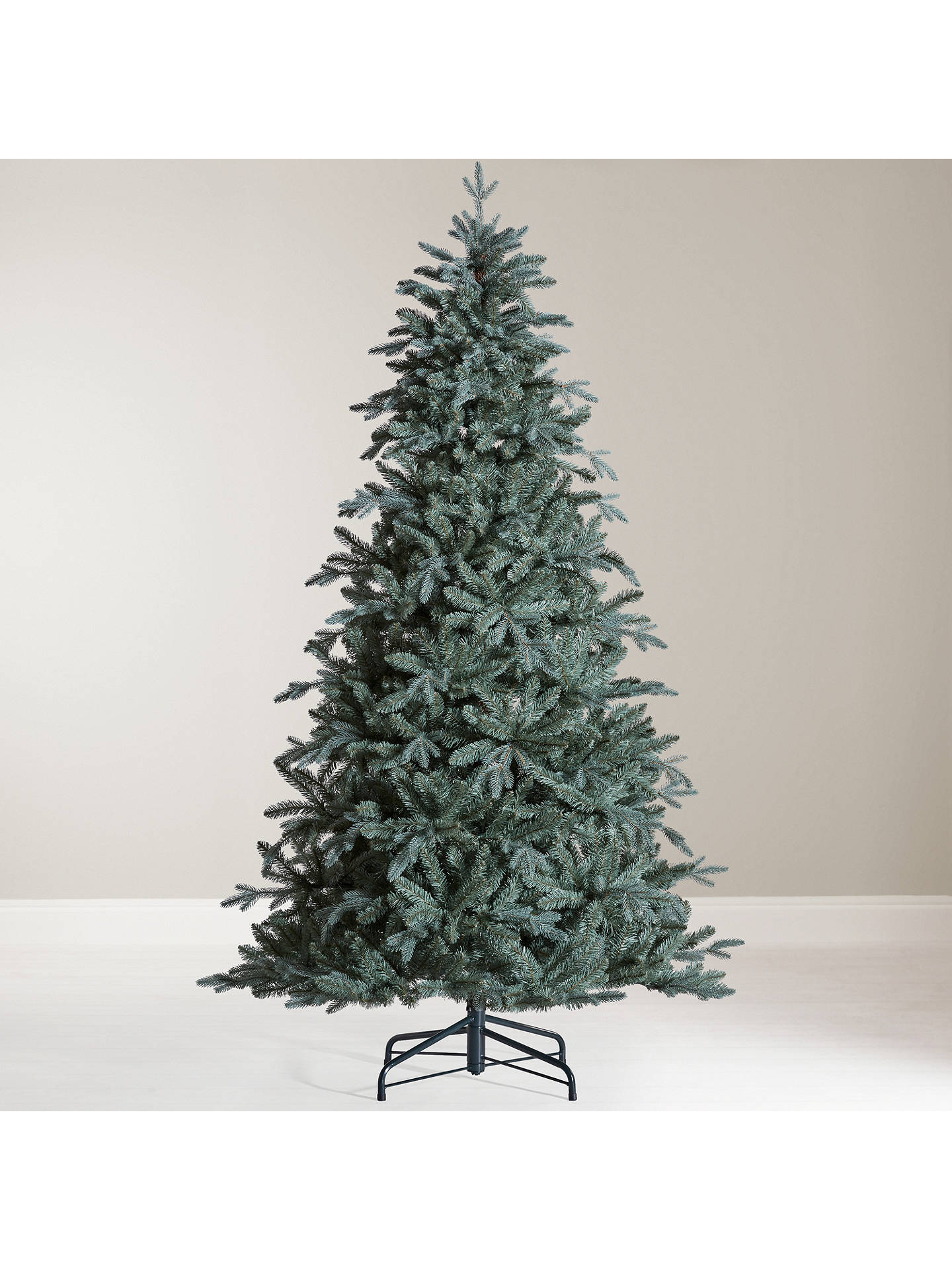 John Lewis Christmas Tree.John Lewis Partners Serbian Blue Spruce Unlit Christmas Tree 7ft