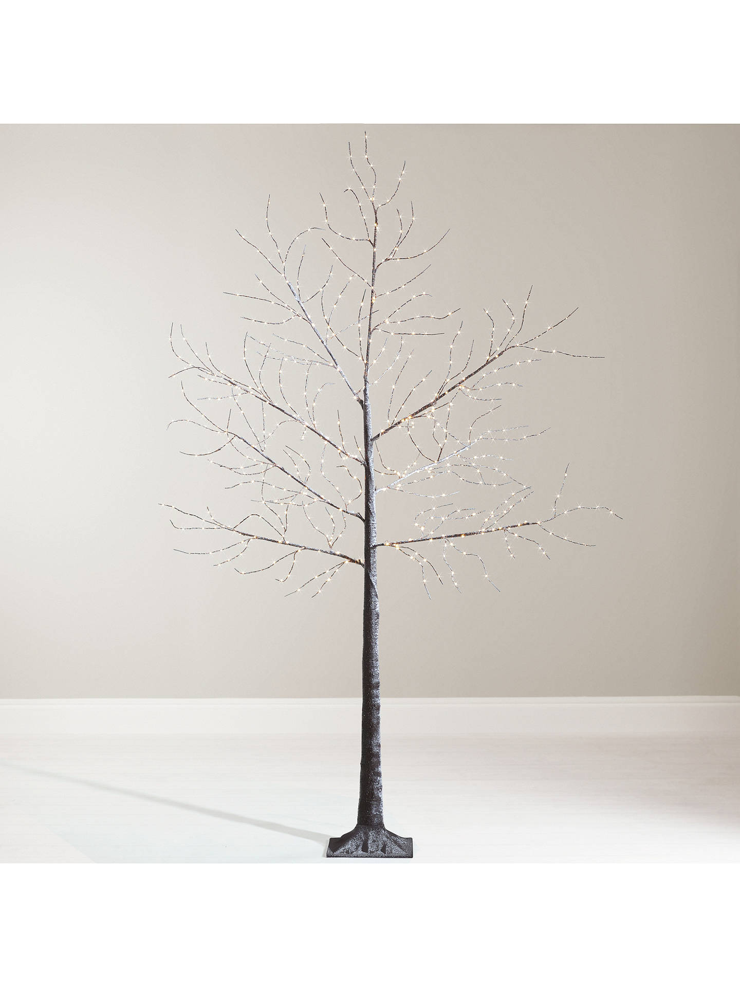 John Lewis Partners Pre Lit Micro LED Twig Tree 6ft Copper