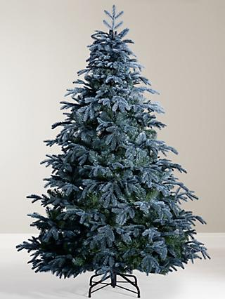 john lewis partners st petersburg unlit christmas tree blue - Frosty Blue Christmas Decorations