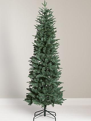 John Lewis & Partners Slender Blue Spruce Unlit Christmas Tree, ... - Christmas Trees Real & Artificial Christmas Trees At John Lewis