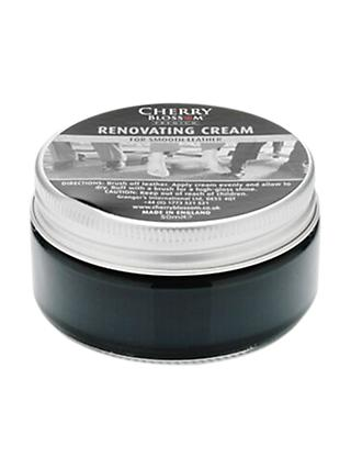 Cherry Blossom Renovating Shoe Cream, 50ml, Black