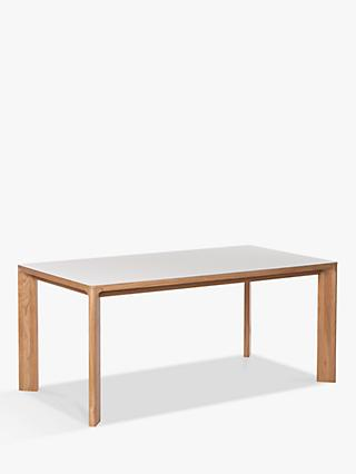 Another Brand Lastra 8 Seater Dining Table, Mushroom/Oak