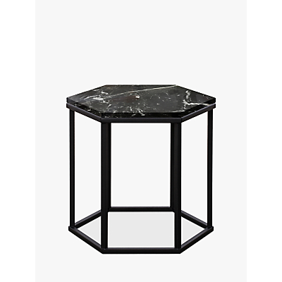 Another Brand Favo Low Console Table, Black