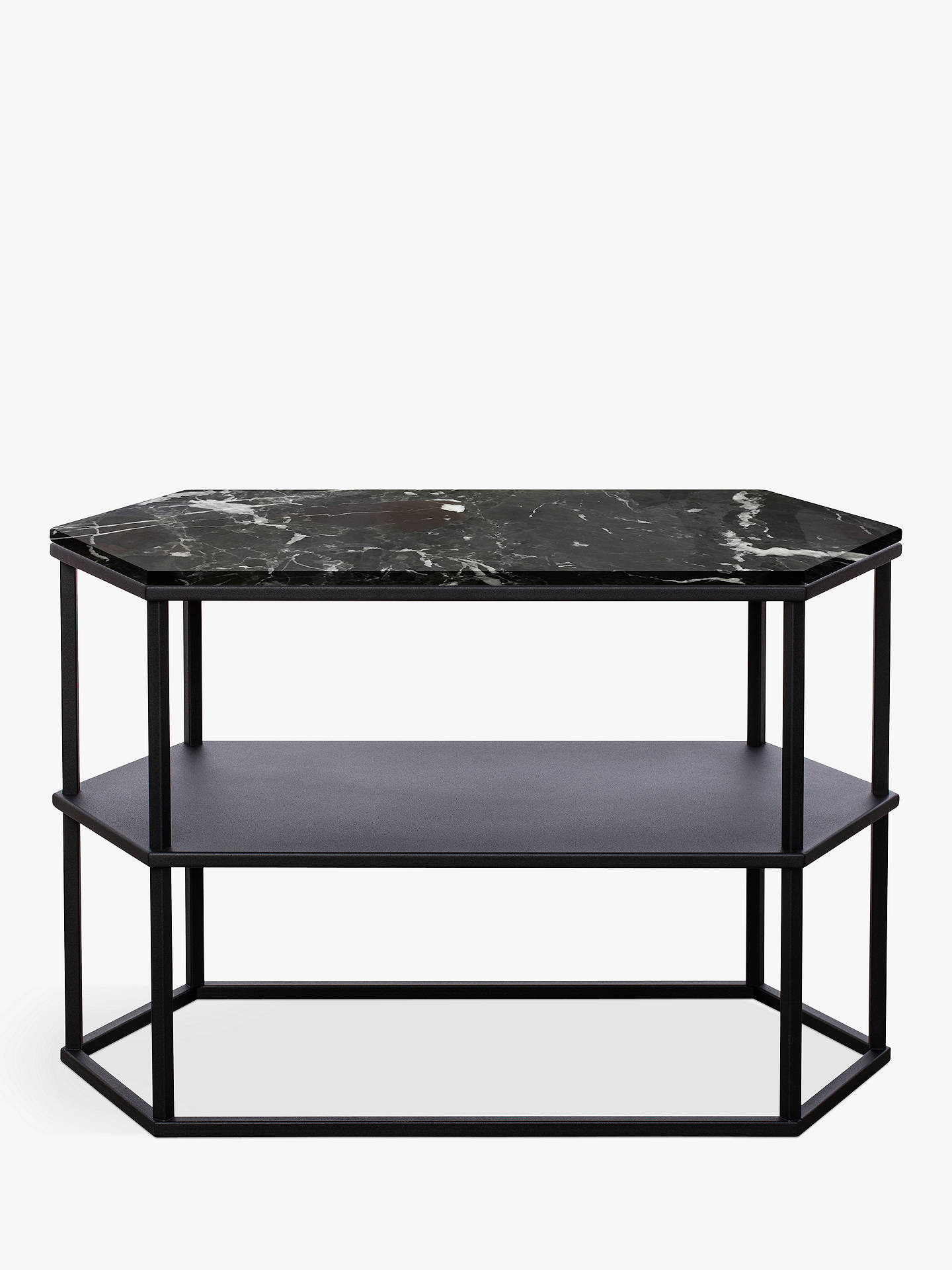 Buyanother brand favo long console table black online at johnlewis com