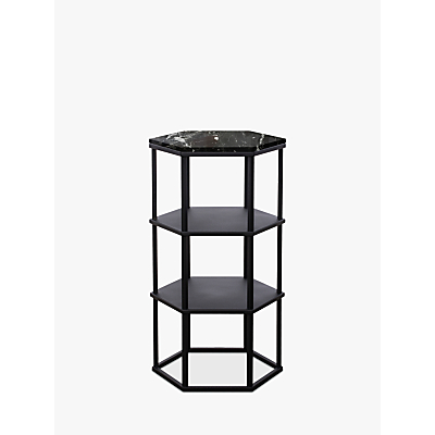 Another Brand Favo Tall Console Table, Black