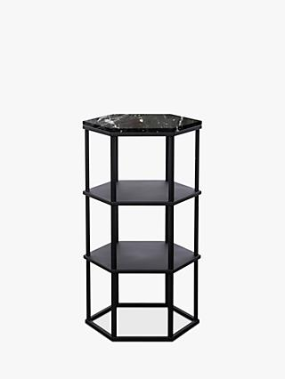Another Brand Favo Tall Side Table, Black