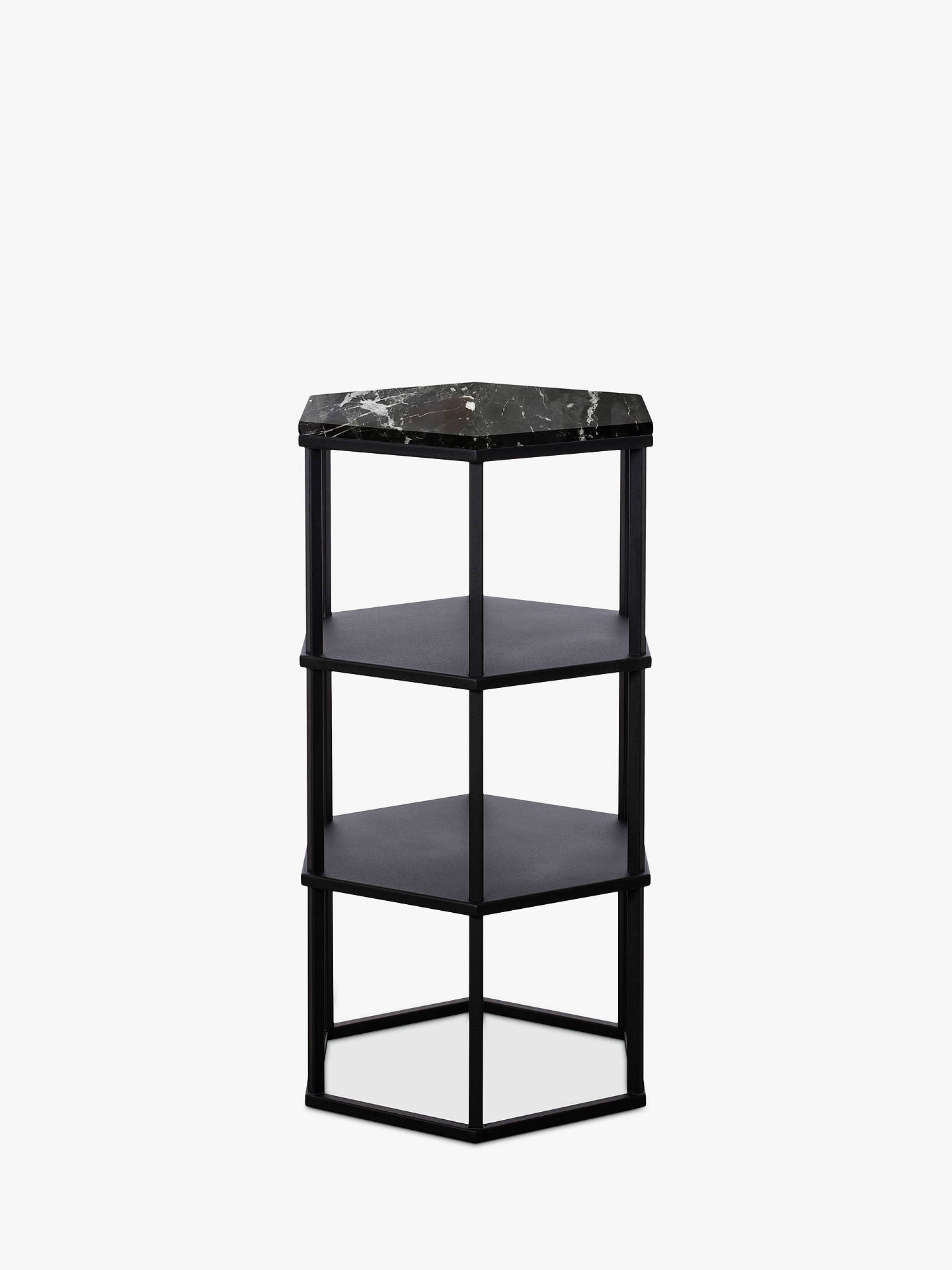 BuyAnother Brand Favo Tall Console Table, Black Online at johnlewis.com